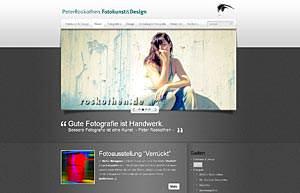 Webseite Peter Roskothen Fotograf Düsseldorf und Umgebung