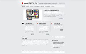 *fotowissen.eu die Webseite für Fotografen in neuem Glanz