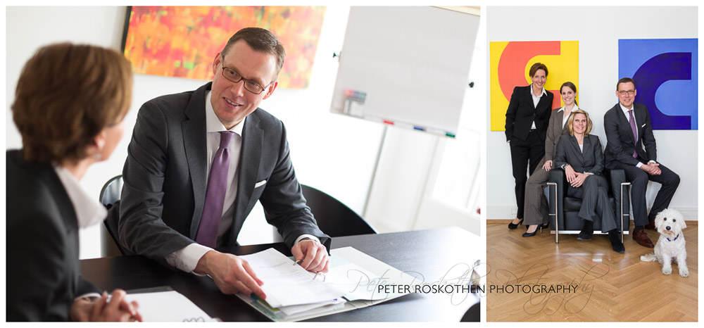 Firmenfotos Düsseldorf Fotograf Peter Roskothen Geschäftsführer Portraits Mitarbeiter Unternehmen Foto