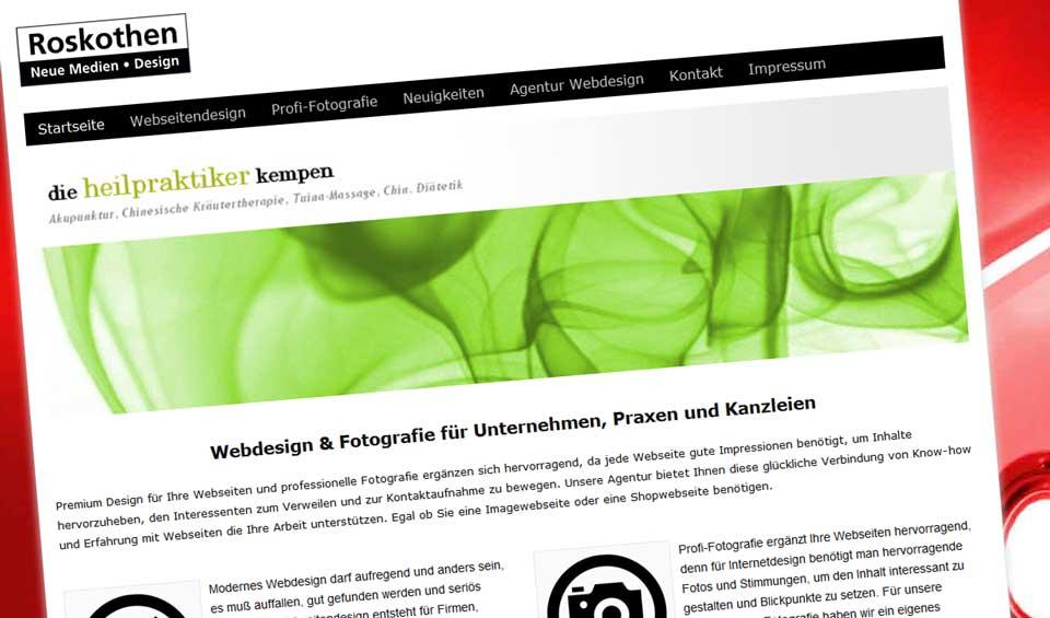 Premium Webdesign Roskothen