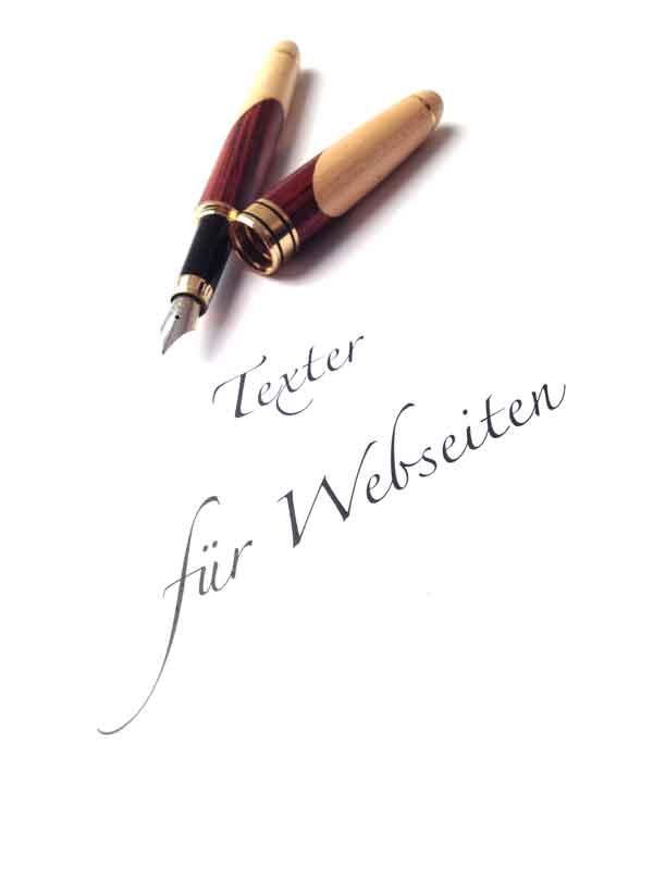 Texter für Webseiten Autor Schreibservice Autorenservice