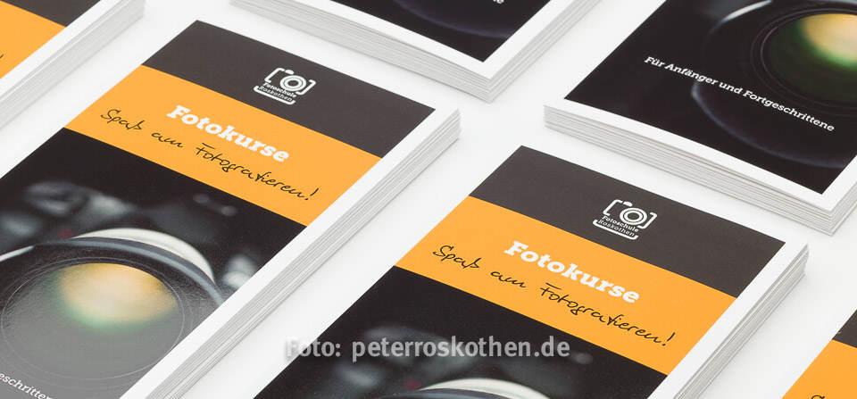 Flyer Fotokurs Fotoschule Roskothen