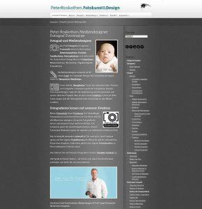 Webseite Foto Roskothen Fotograf Fotoschule
