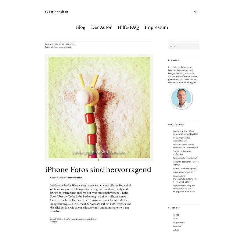 Webblog ueberkritisch.de
