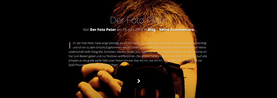 Blog Der Foto Peter