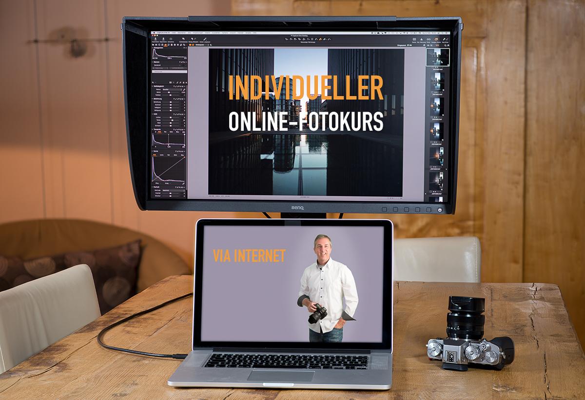 Individueller Online Fotokurs Bildbearbeitung - Fotoschule Roskothen